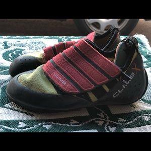 CLIMB X FACTOR Boy's Orange Black Climbing Shoes